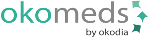 Logo Okomeds, traducción médica