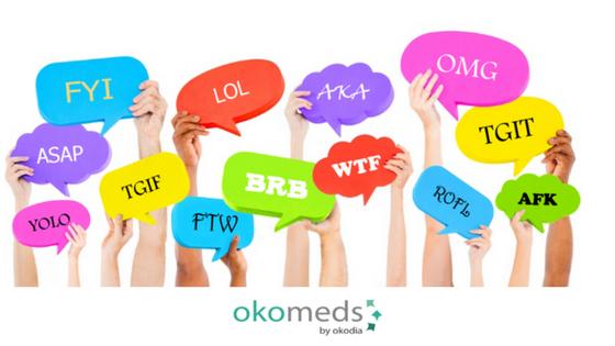Common abbreviations in medical translation - Okomeds
